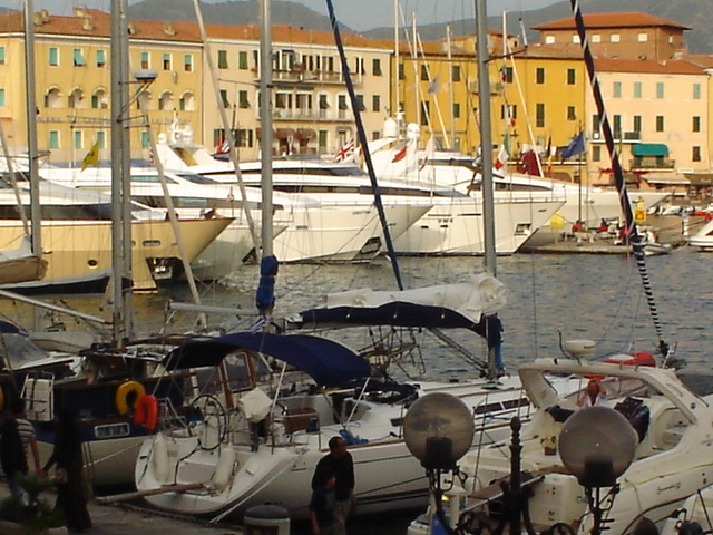 Portoferraio moorings